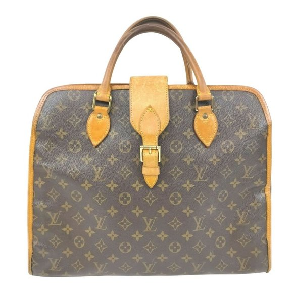Auth Louis Vuitton Rivoli Laptop Bag #8472L34